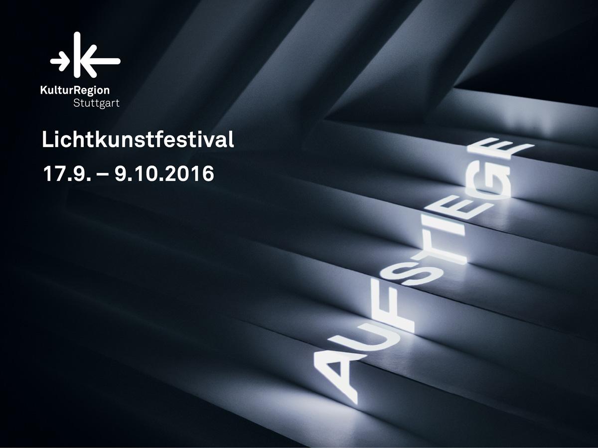 Lichtkunstfestival Aufstiege